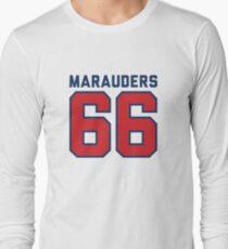 Marauders 66 Grey Jersey Long Sleeve T-Shirt