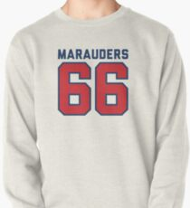 Marauders 66 Grey Jersey Pullover