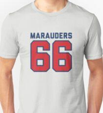 Marauders 66 Grey Jersey Unisex T-Shirt