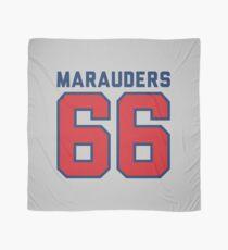 Marauders 66 Grey Jersey Scarf