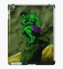 HULK THINK!! iPad Case/Skin