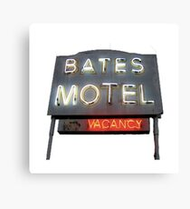 Bates Motel Canvas Print