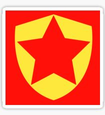 WordGirl Chest Symbol Sticker