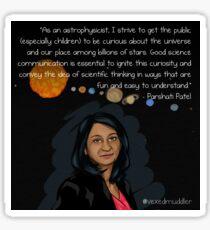 #SciComm100: Parshati Patel Sticker