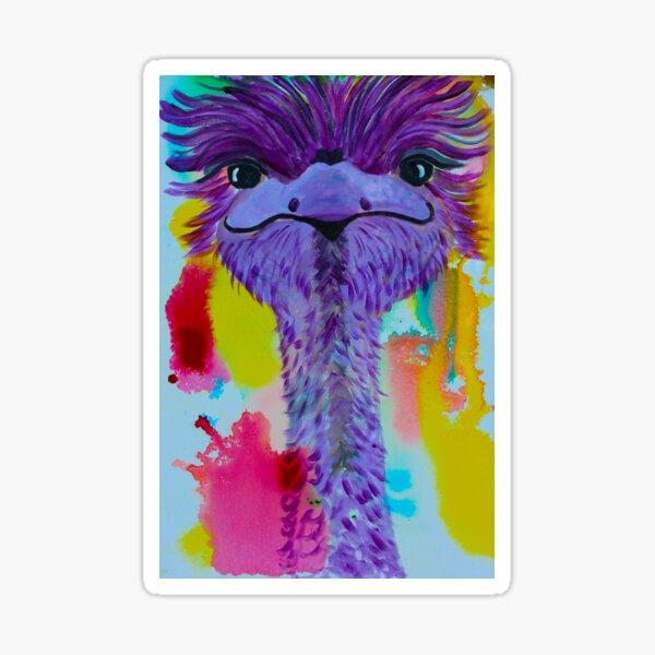 So what if I am purple Sticker
