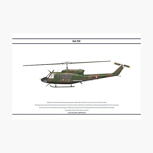 Bell 212 Austria 1 Photographic Print
