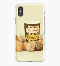Tim Horton's OG Cup with Timbits iPhone Case