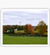 Virginia Countryside in Autumn      ^ Sticker