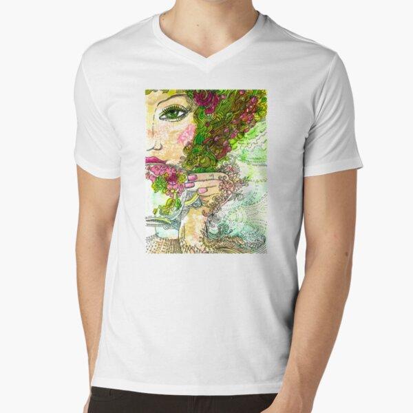 Morning Coffee V-Neck T-Shirt