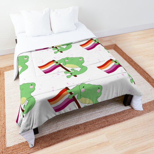 Lesbian Frog Comforter