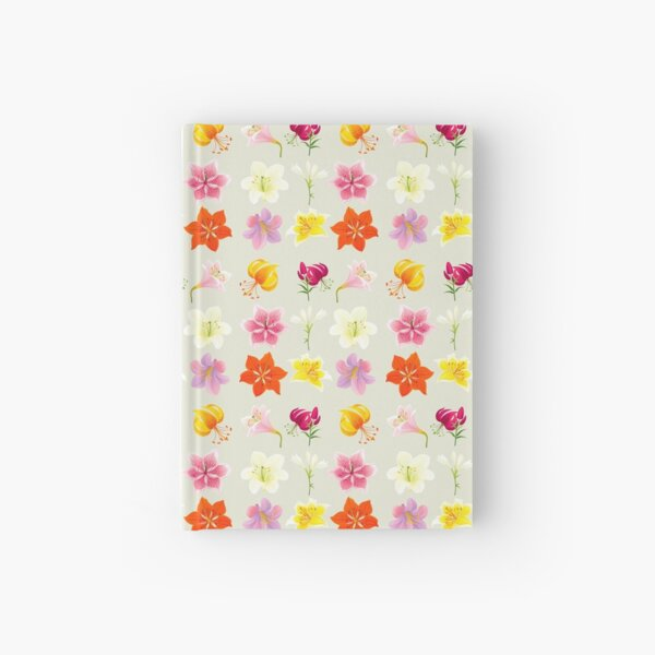 Colorful Lilies Hardcover Journal