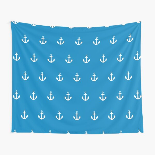 Anchor Pattern Tapestry