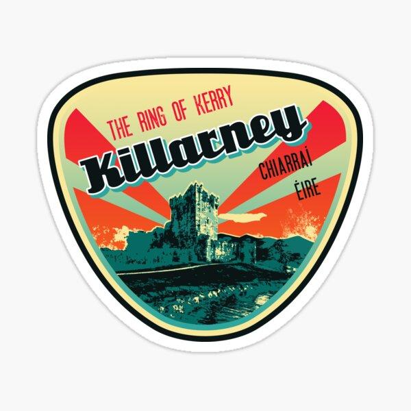 Ireland, Kerry, Killarney T-Shirt + Sticker Sticker