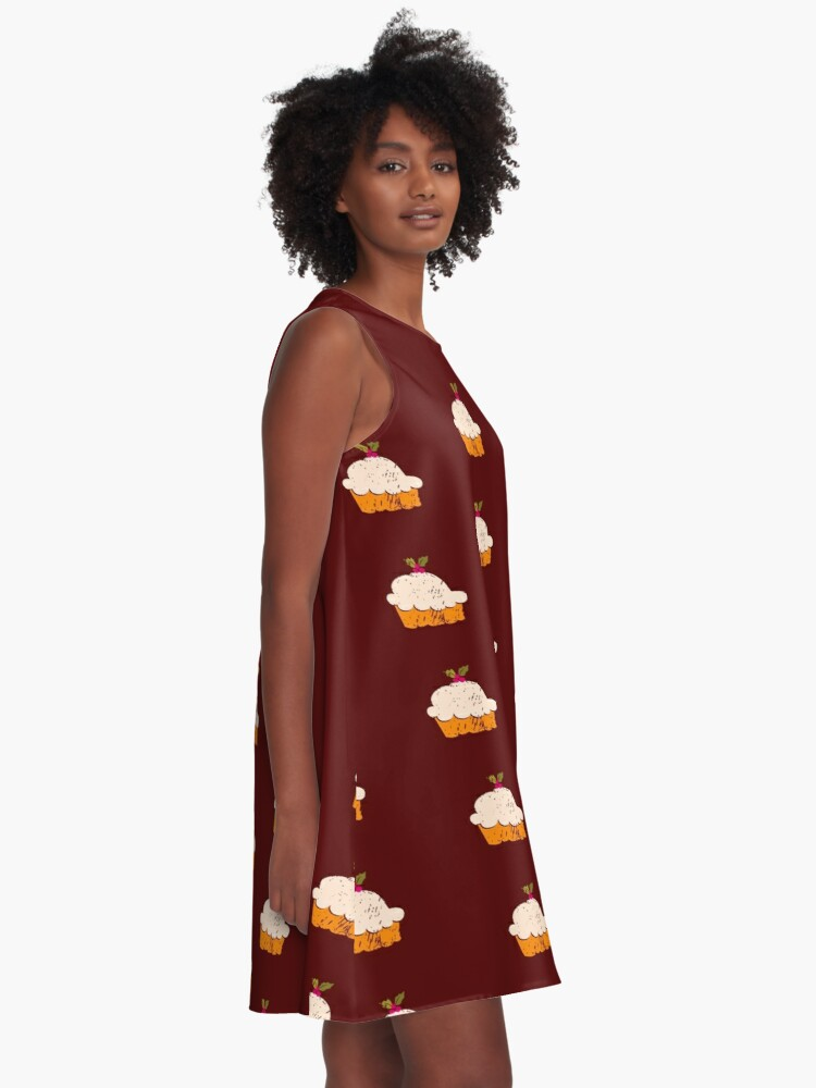 Alternate view of Sweet Cupcake A-Line Dress