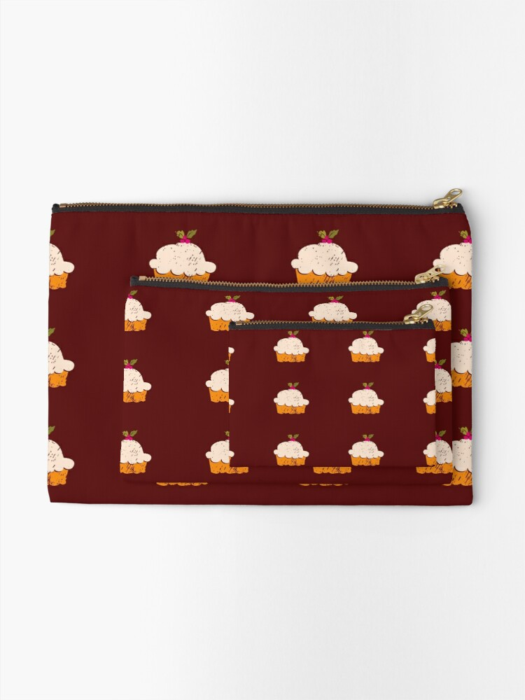 Alternate view of Sweet Cupcake Zipper Pouch
