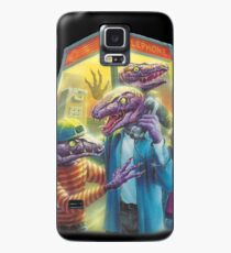 Raptors in a Phone Booth Case/Skin for Samsung Galaxy