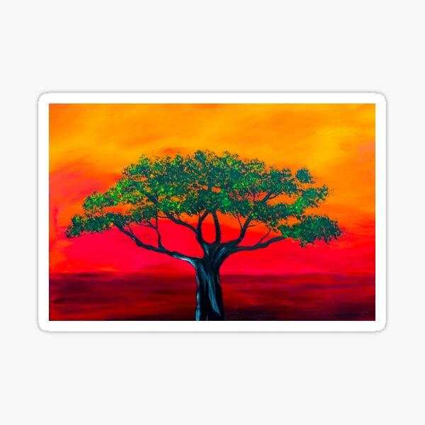 Scarlet Sunset  Sticker