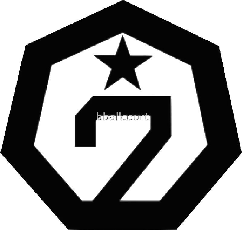 """GOT7 - Logo"" Stickers by bballcourt | Redbubble"