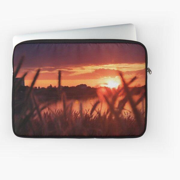 Beautiful Sunset By The Lake Laptop Sleeve