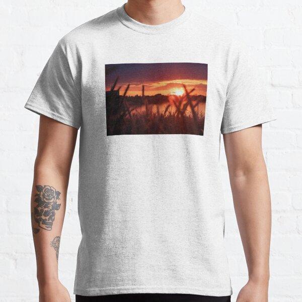 Beautiful Sunset By The Lake Classic T-Shirt