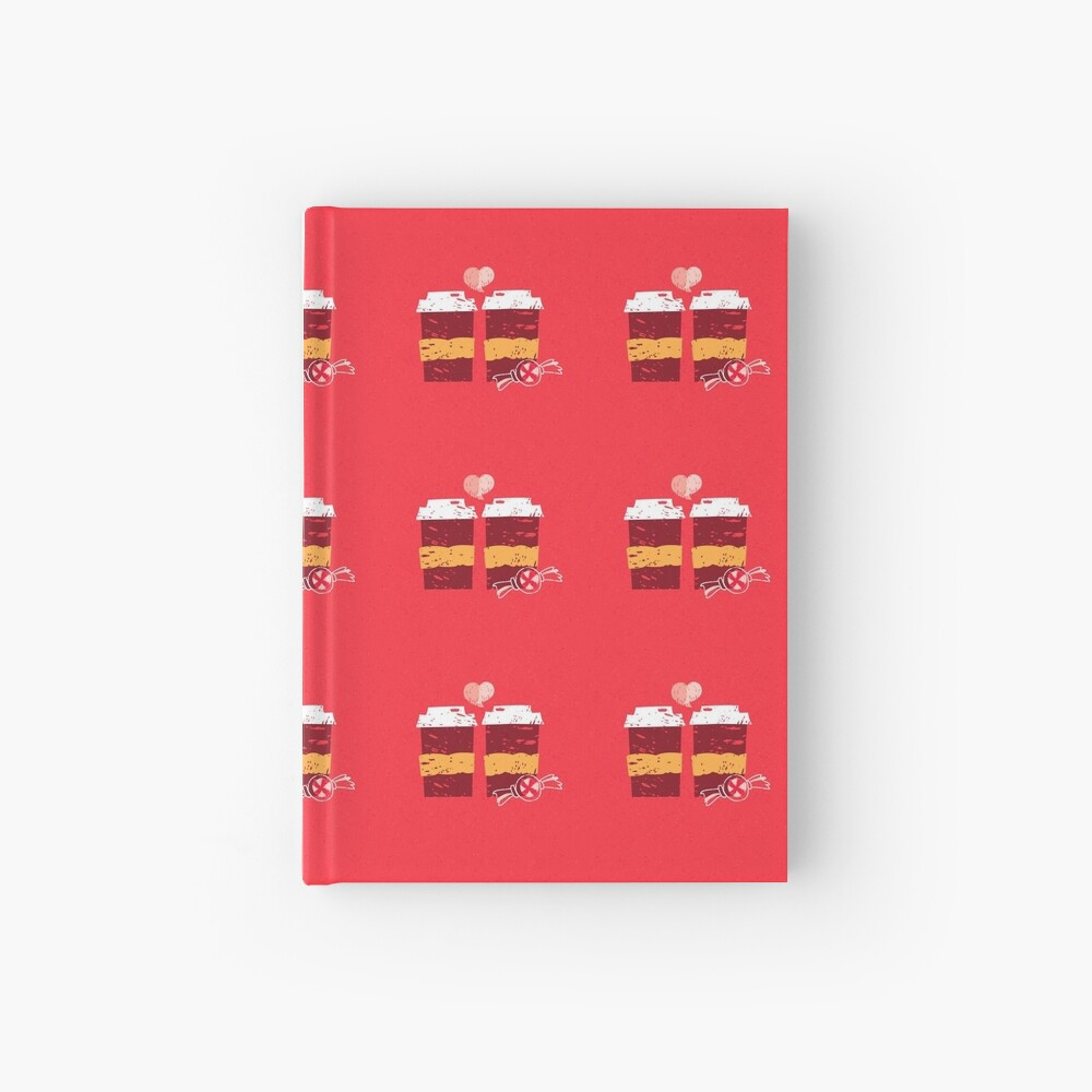 Coffee for Two Hardcover Journal