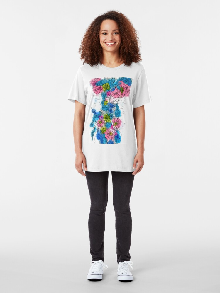 Alternate view of Spring Bloom Slim Fit T-Shirt