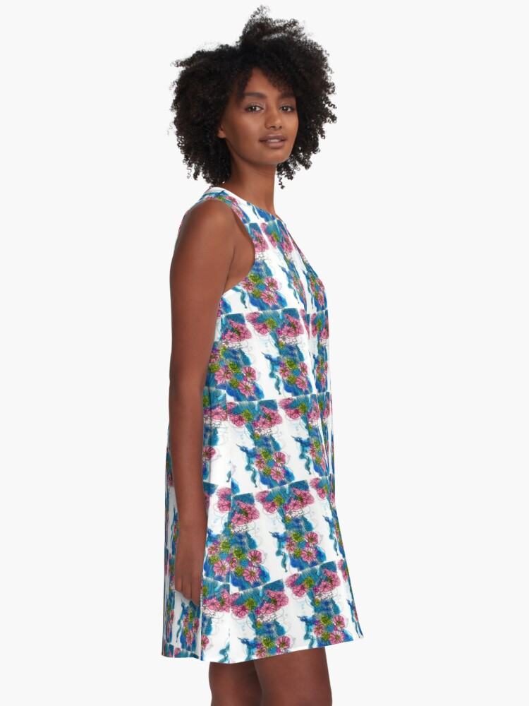 Alternate view of Spring Bloom A-Line Dress