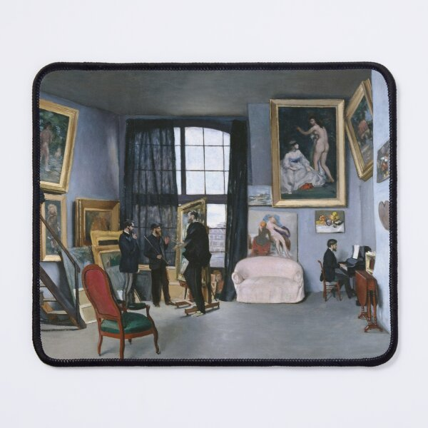 Frederic bazille studio Mouse Pad