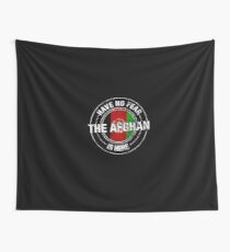 Have No Fear The Afghan Is Here  Wall Tapestry