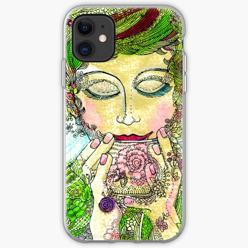 Afternoon Tea iPhone Soft Case
