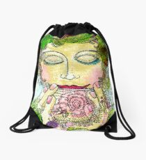 Afternoon Tea Drawstring Bag
