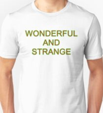 Wonderful and Strange Twin Peaks T-Shirt