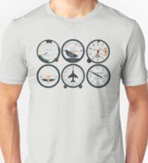 Basic Six Flight Instruments Unisex T-Shirt