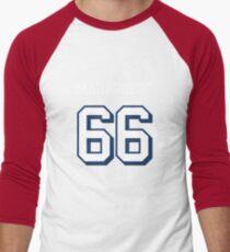 Marauders 66 Red Jersey Men's Baseball ¾ T-Shirt