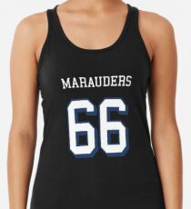 Marauders 66 Red Jersey Women's Tank Top