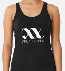 Camiseta con espalda nadadora Cross Gene - Logotipo