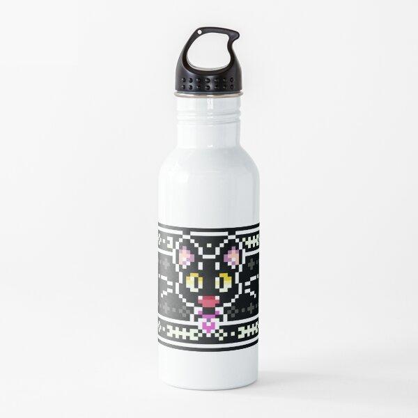Black Cat Water Bottle