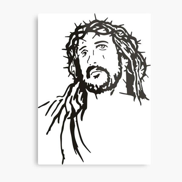 Jesus Christ Metal Print