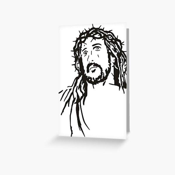 Jesus Christ Greeting Card