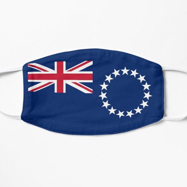 Flag of Cook Islands Flat Mask