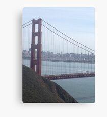 Golden Gate Bridge Landscape Canvas Print