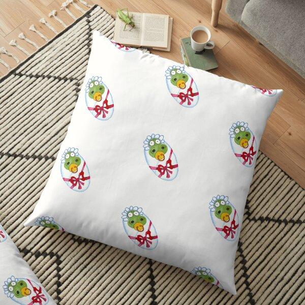 Baby Dino Floor Pillow