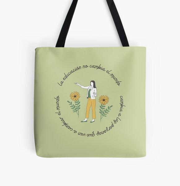 Gift for teacher education All Over Print Tote Bag