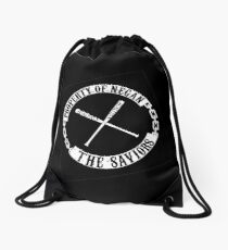the walking dead Drawstring Bag