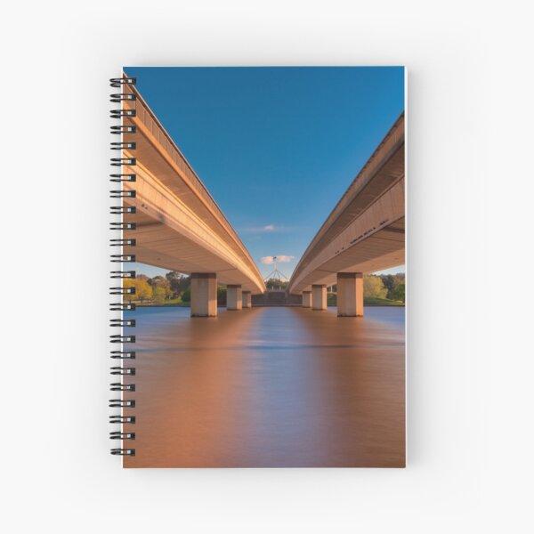 Commonwealth Avenue Bridge Canberra ACT Australia Spiral Notebook