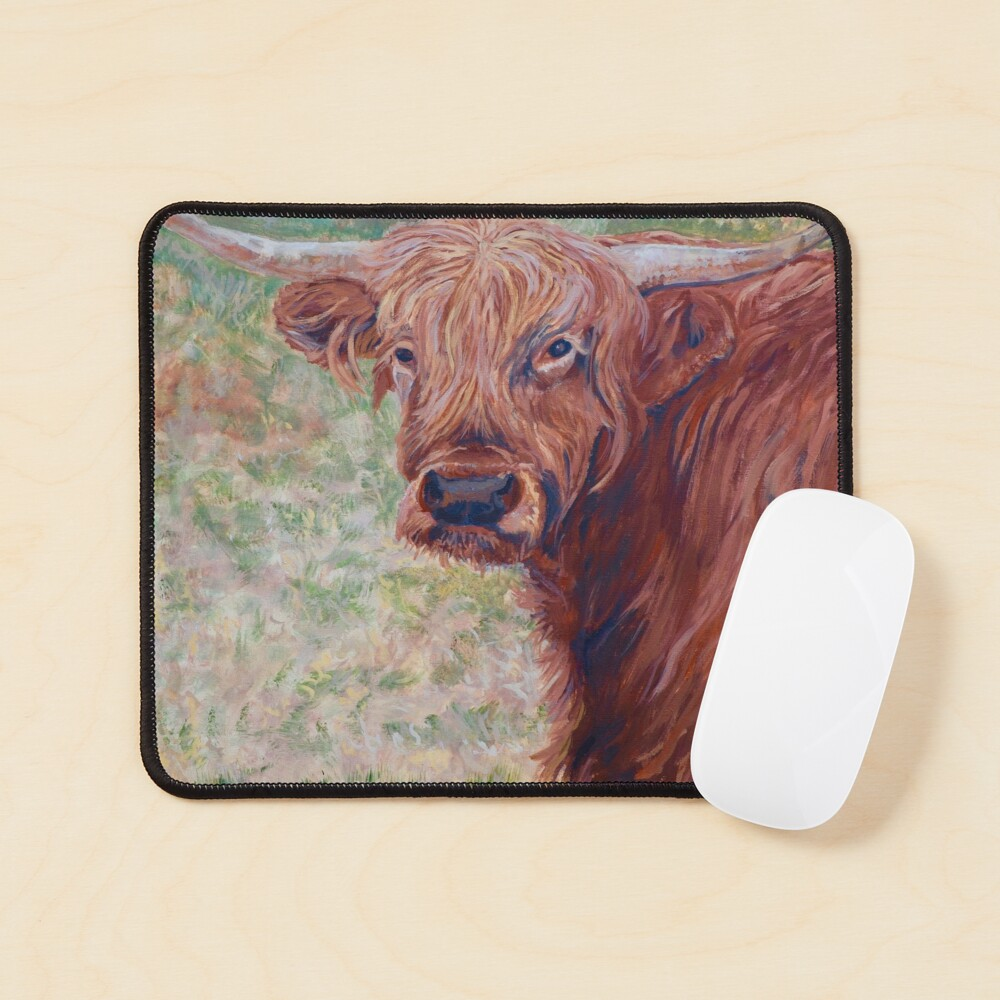 Wink Mouse Pad
