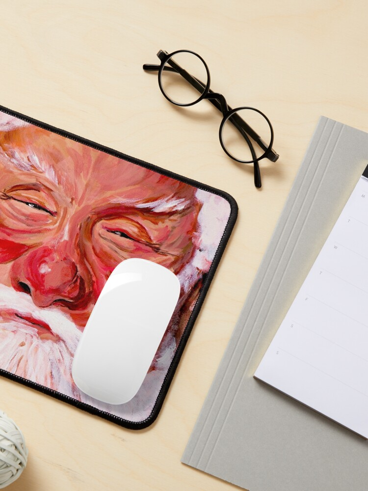 Alternate view of Santa Claus Mouse Pad