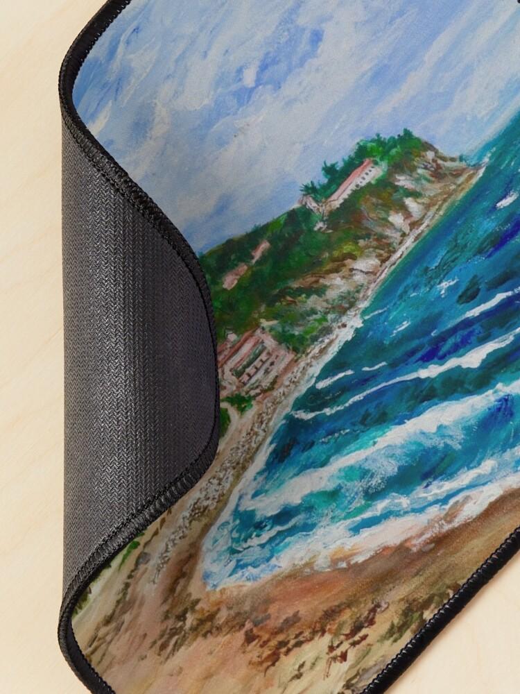 Alternate view of Burnout Beach, Palos Verdes Pennisula Mouse Pad