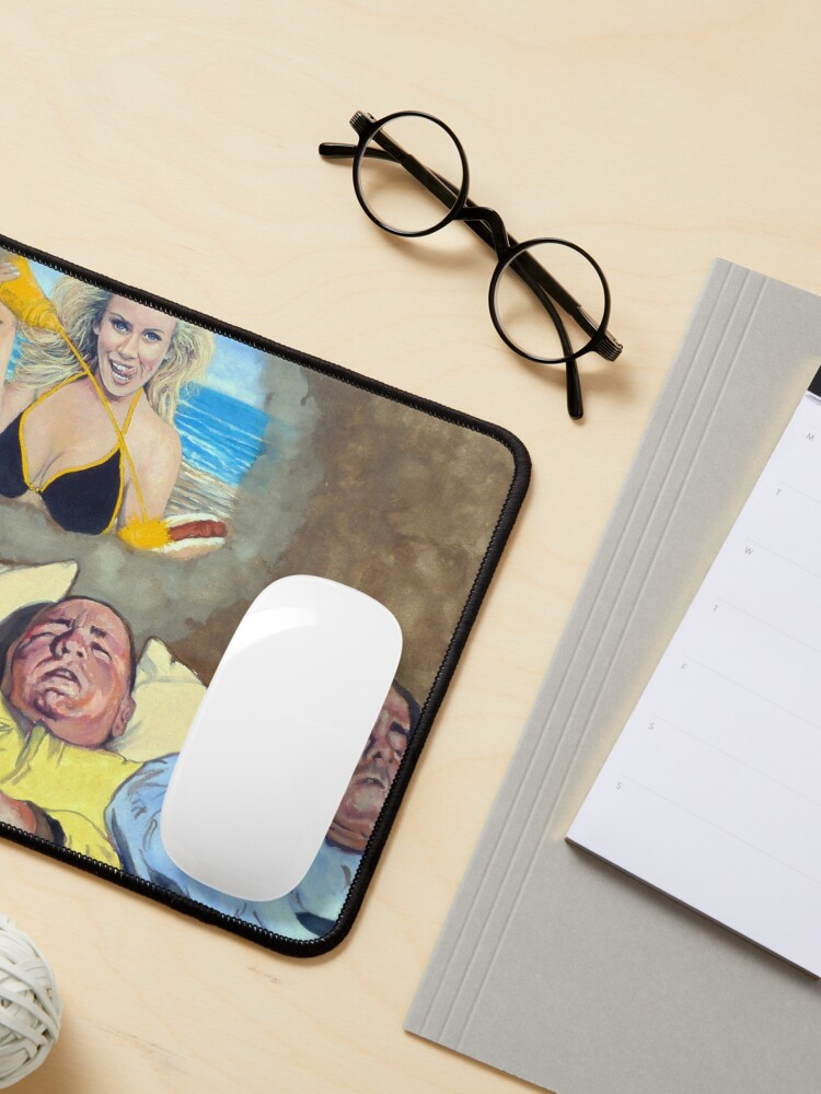 Alternate view of I Dream Of Jenny Mouse Pad