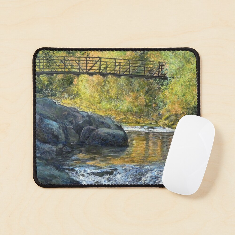 Boulder Creek - Late Afternoon Mouse Pad